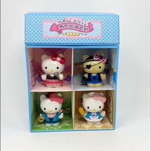 7 Eleven Japan Sanrio Hello Kitty 3in figs Playset